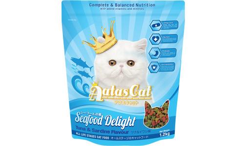 Aatas Cat Seafood Delight Tuna & Sardine 1.2kg