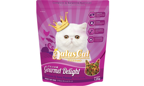 Aatas Cat Gourmet Delight Chicken & Tuna 1.2kg