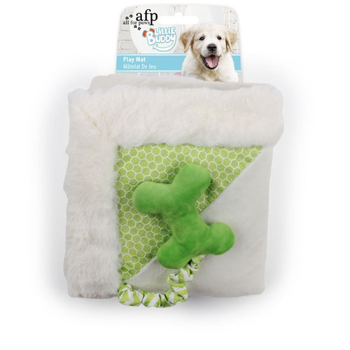 All For Paws Little Buddy Play Mat Green