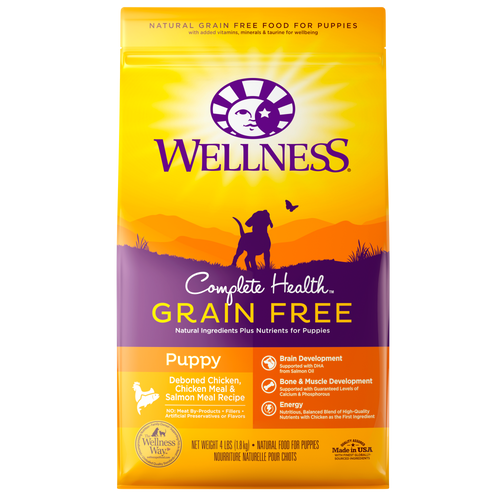 Wellness Complete Health Grain Free For Puppy Kibble