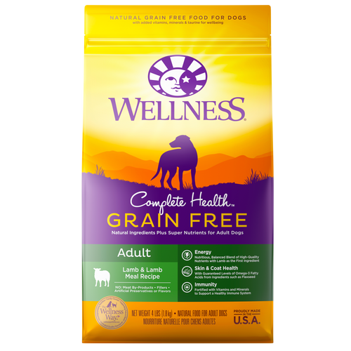 Wellness Complete Health Grain Free Lamb & Lamb Meal Dog Kibble