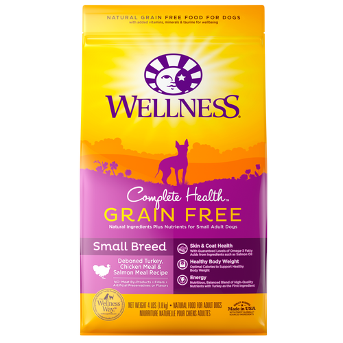Wellness Complete Health Grain Free Small Breed Dog Kibble