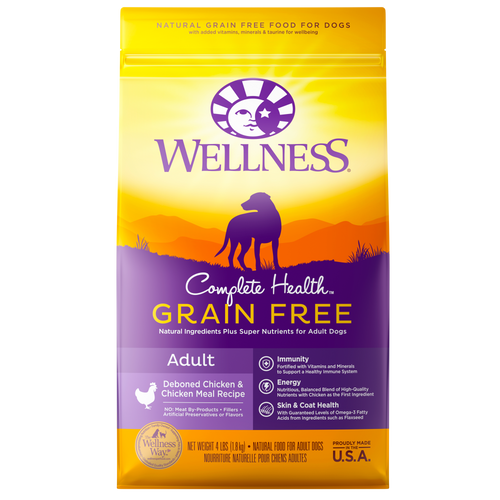 Wellness Complete Health Grain Free Deboned Chicken & Chicken Meal Dog Kibble