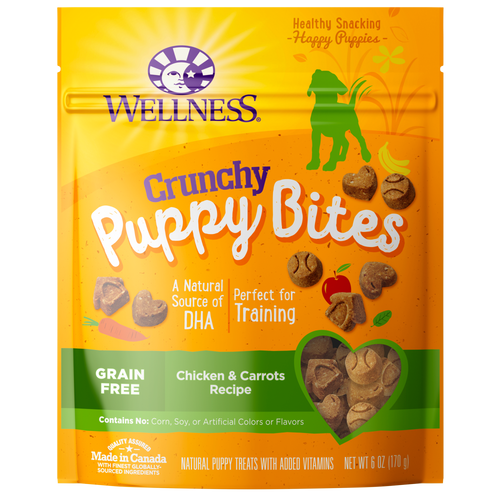 Puppy Bites Crunchy Chicken & Carrots