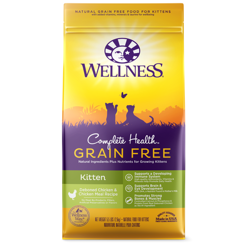 Wellness Complete Health Grain Free Kitten Kibble
