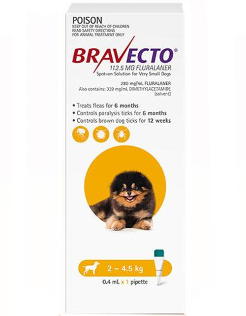Bravecto Spot-on for Dogs