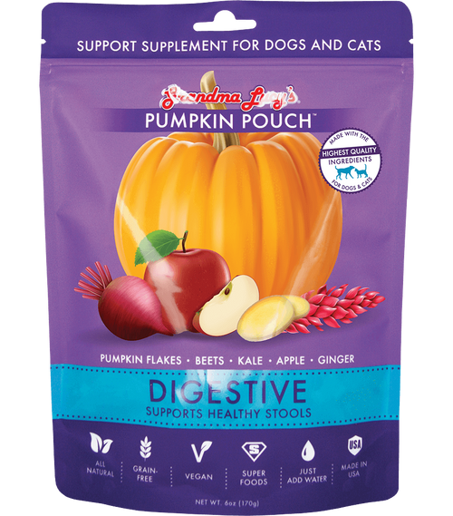 Grandma's Lucy Pumpkin Pouches Digestive Supplement