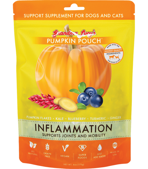 Grandma's Lucy Pumpkin Pouches Inflammation Supplement