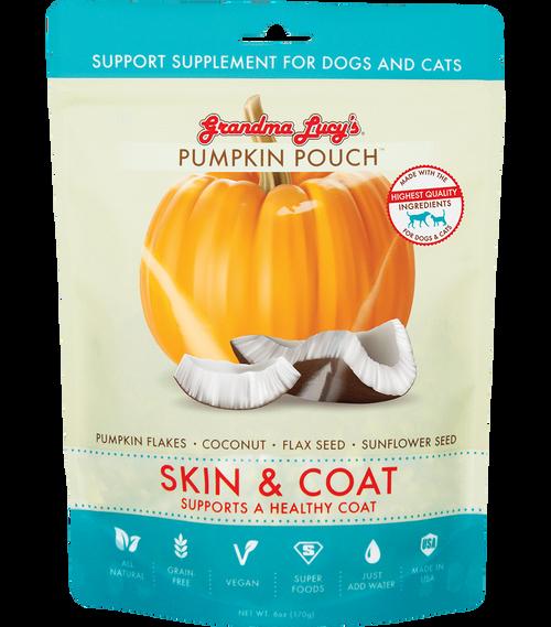 Grandma's Lucy Pumpkin Pouches Skin & Coat Supplement