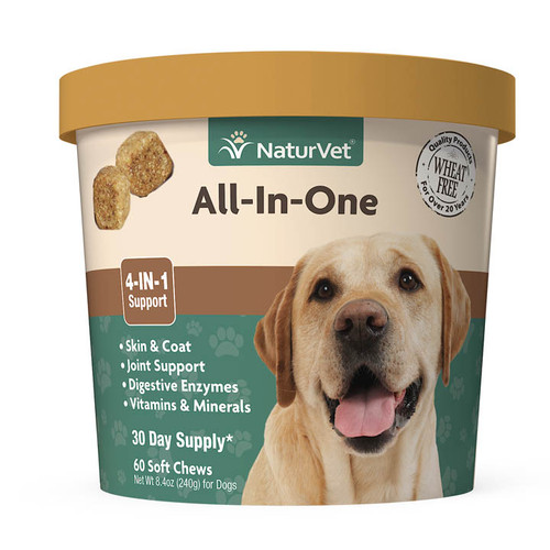 NaturVet All-In-One (4-IN-1 Support) Soft Chew