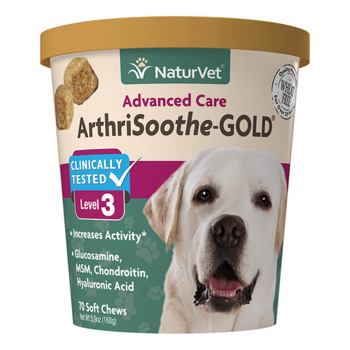 NaturVet Arthrisooth-GOLD Soft Chew Level 3