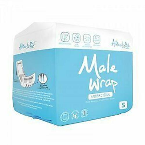Altimate Pet Antibacterial Male  Wrap