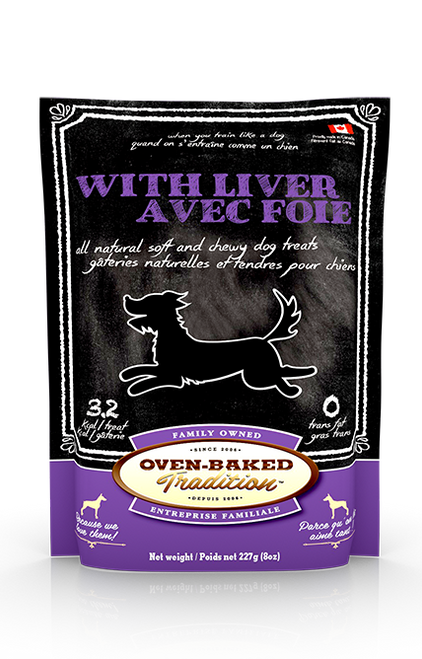 Oven-Baked Tradition Liver Treat 8oz