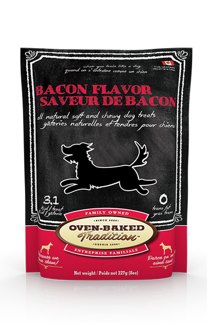 Oven-Baked Tradition Bacon Treats 8oz