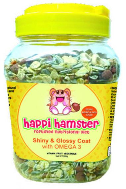 Happi Hamster Shiny and Glossy Coat