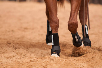 THE ICONOCLAST®  DIFFERENCE The Iconoclast® Orthopedic Support Boot has absolutely REVOLUTIONIZED equine leg support. Iconoclast® Boots are specifically designed to support and protect the suspensory and sesamoidial regions by providing 360-degree support of the equine leg. Never has this method of support been provided for the equine athlete through a strap on, non-restrictive device.