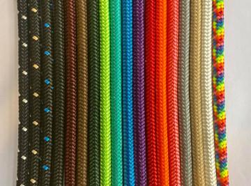 Custom colours - black with white fleck, black with tan fleck, black with blue fleck, black, burgundy, brown, dark green, lime green, turquoise, blue, purple, red, orange, pink, grey, tan, white, rainbow.