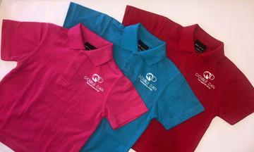 Kids Coloured Polo Shirt