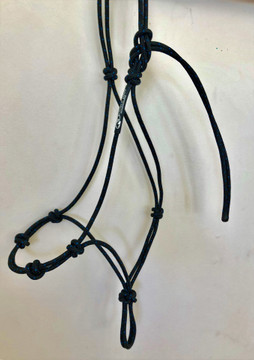 Full 4-knot training halter