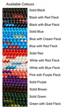 Custom rope colours