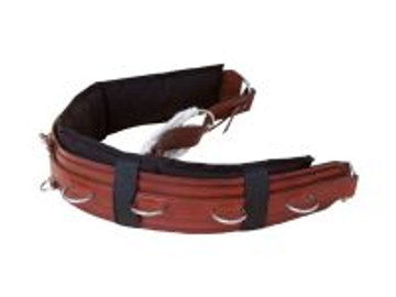 Featuring leather style girth. Also removable, washable roller liner