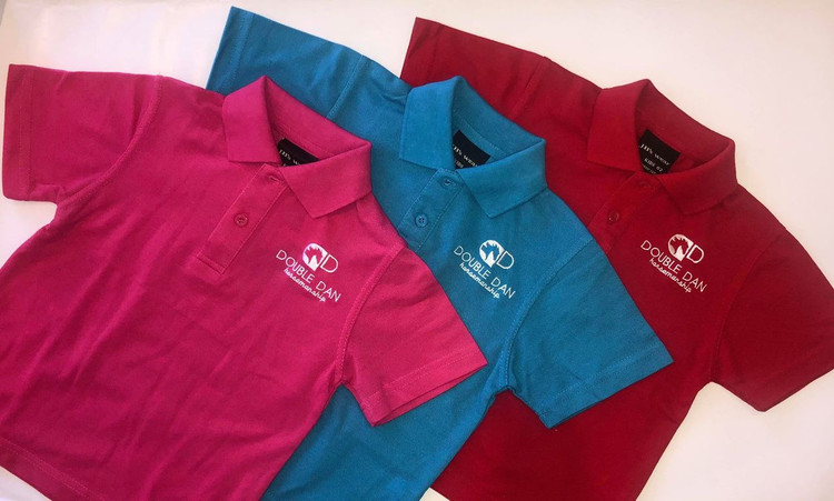 Kids Coloured Polo Shirt