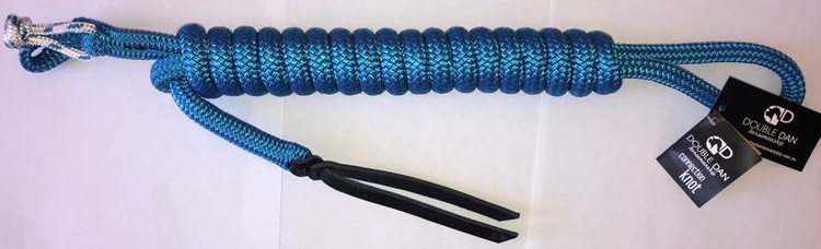 Blue with blue and white fleck knot (standard colour)