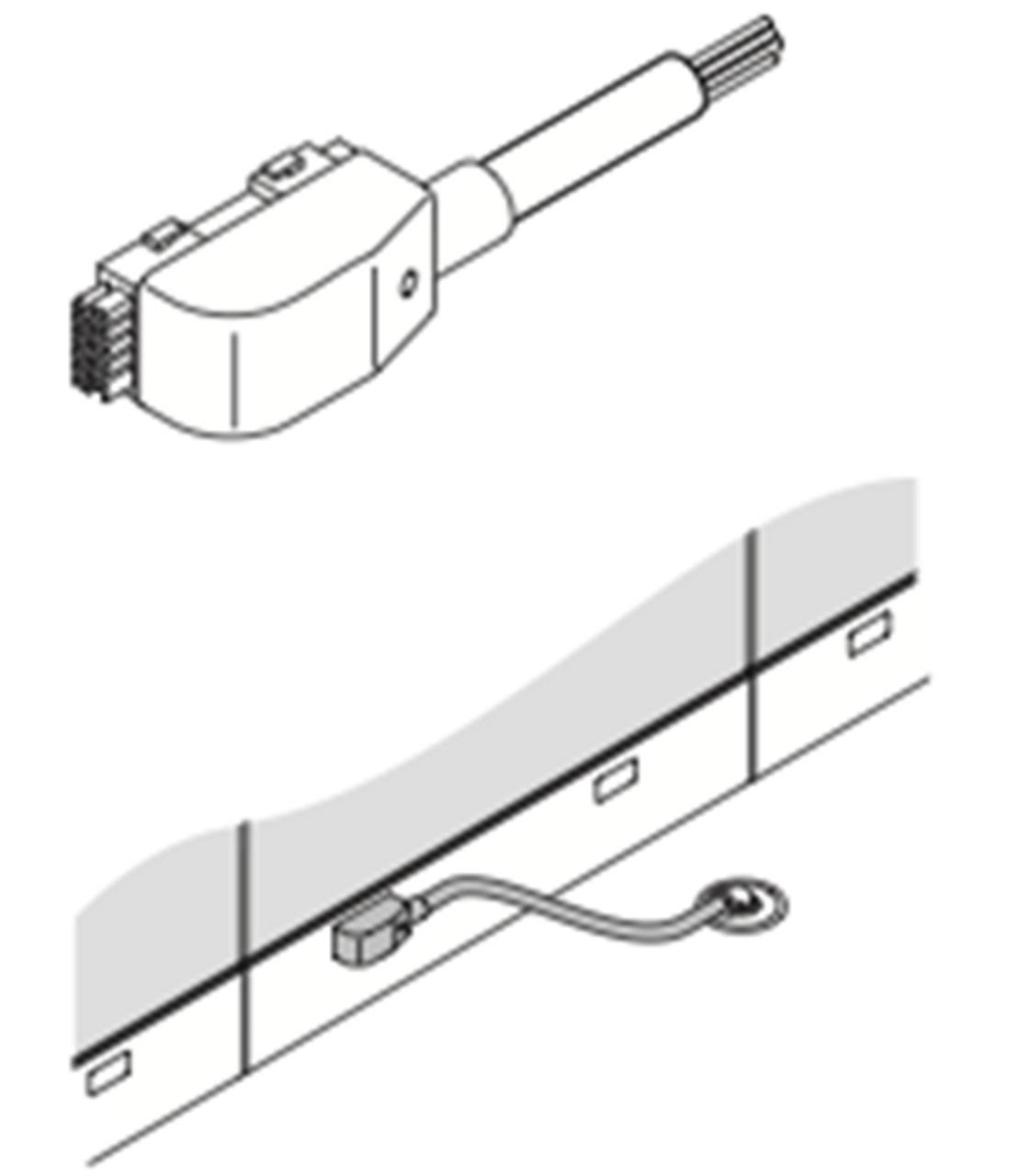 Haworth Premise NEBF-1 Base Feed Module Hardwire Connection on