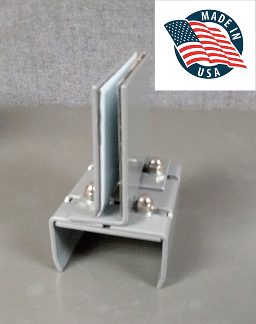 Cubicle Panel Partition Bracket Clamp For Privacy Screens