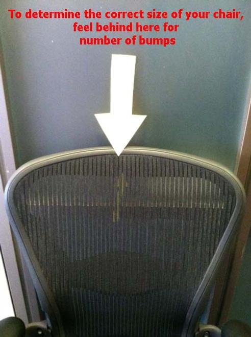Replacement Seat Herman Miller Aeron Chair Size C