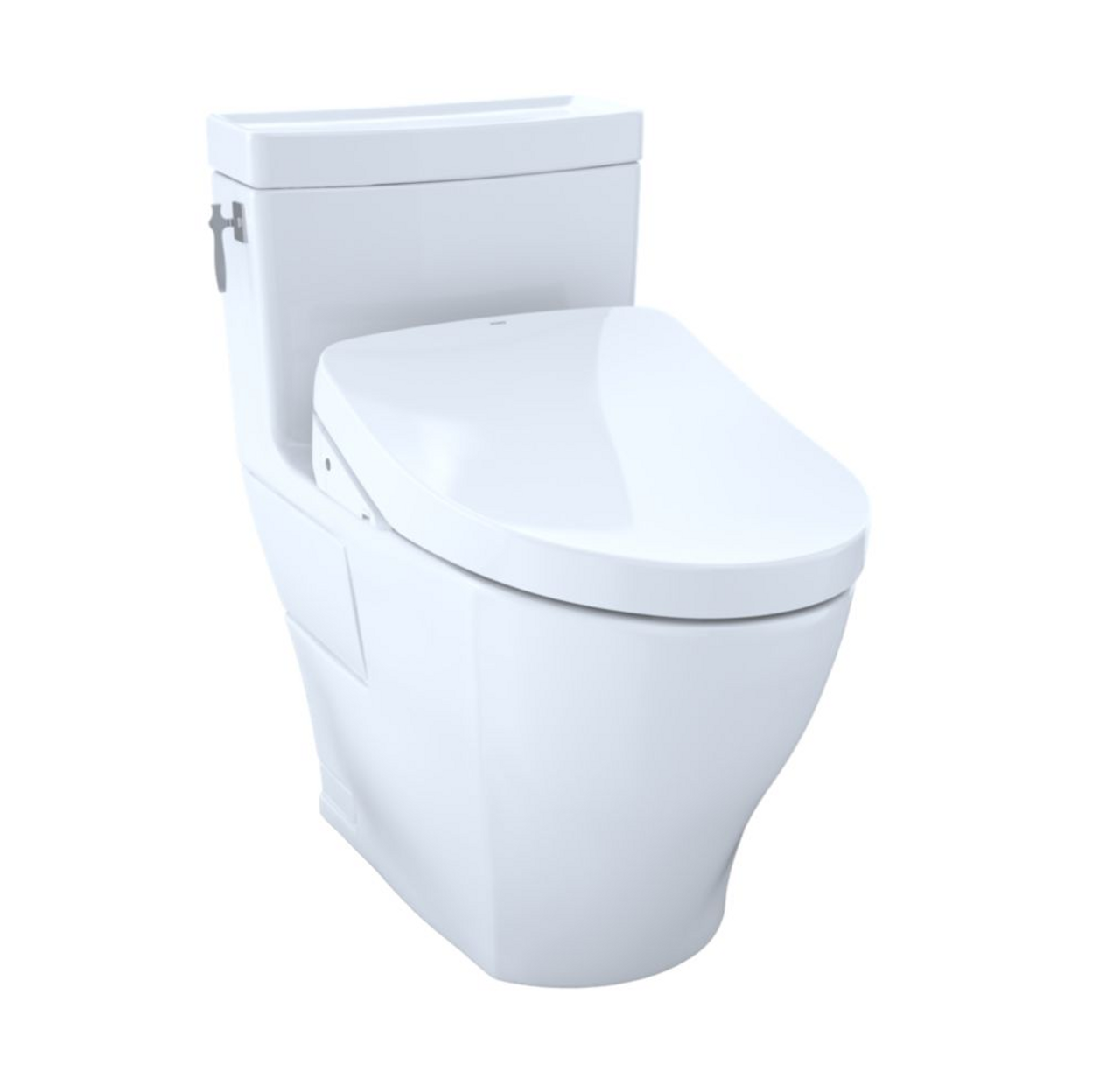 Toto Aimes Washlet S500e One Piece Toilet With 1 28 Gpf