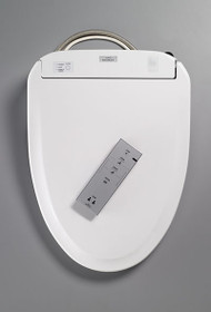 Toto S350E Washlet  - (Round only) Cotton White or Sedona Beige