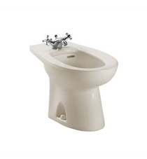 Piedmont Deck Mount Bidet in Bone