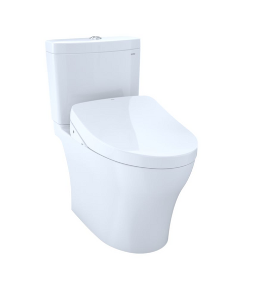 Aquia IV Washlet+ S500e Universal Height Two-Piece Toilet - 1.28 GPF & 0.8 GPF