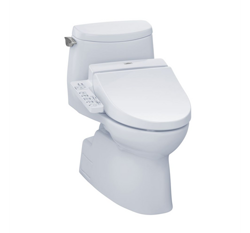 TOTO Carlyle II 1G Washlet+ C100 Universal Height One-Piece Toilet - 1.0 GPF