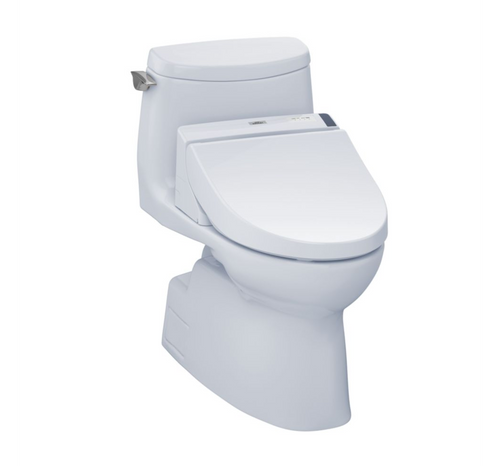 TOTO Carlyle II 1G WASHLET+ C200 One-Piece Toilet - 1.0 GPF