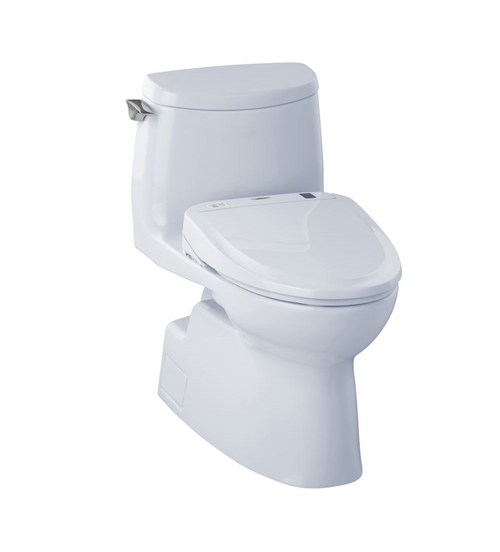 TOTO Carlyle II 1G WASHLET+ S300e One-Piece Toilet - 1.0 GPF