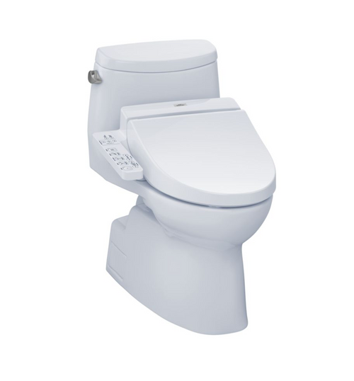 TOTO Carlyle II WASHLET+ C100 One-Piece Toilet - 1.28 GPF
