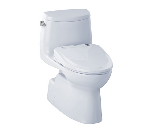 TOTO Carlyle II Washlet+ S300e One-Piece Toilet - 1.28 GPF