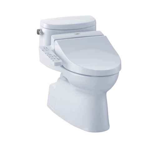 TOTO Carolina II WASHLET+ C100 One-Piece Toilet - 1.28 GPF