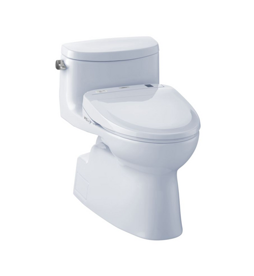 TOTO Carolina II WASHLET+ S300e One-Piece Toilet - 1.28 GPF
