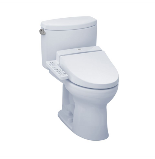 TOTO Drake II WASHLET+ C100 Two-Piece Toilet - 1.28 GPF