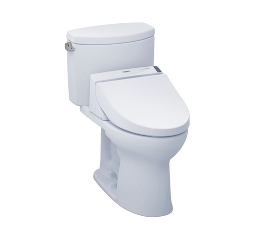 TOTO Drake II WASHLET+ C200 Two-Piece Toilet - 1.28 GPF