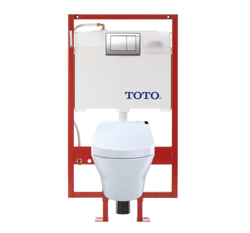 TOTO MH Washlet+ C200 Wall-Hung Toilet - 1.28 GPF & 0.9 GPF - PEX Supply