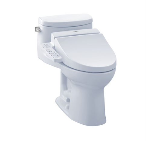 TOTO Supreme  II WASHLET+ C100 One-Piece Toilet and Bidet - 1.28 GPF
