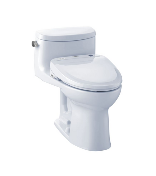 TOTO Supreme II WASHLET+ S300e One-Piece Toilet and Bidet System - 1.28 GPF