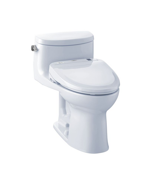 TOTO Supreme II Washlet+ S350e One-Piece Toilet and Bidet System - 1.28 GPF