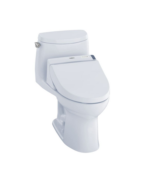 TOTO UltraMax II 1G WASHLET+ C200 One-Piece Toilet and Bidet System - 1.0 GPF