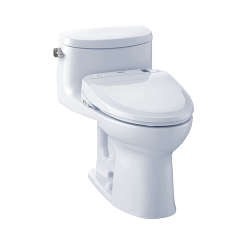TOTO UltraMax II 1G Washlet+ S300e One-Piece Toilet and Bidet System - 1.0 GPF