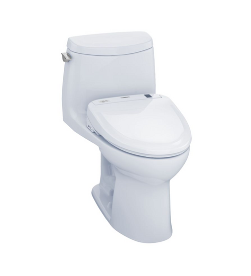 TOTO UltraMax II 1G WASHLET+ S350e One-Piece Toilet and Bidet System - 1.0 GPF